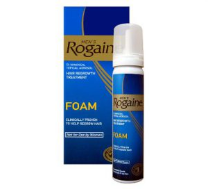 Minoxidil (Rogaine®) was the first hair loss treatment proven to reverse genetic male hair loss.